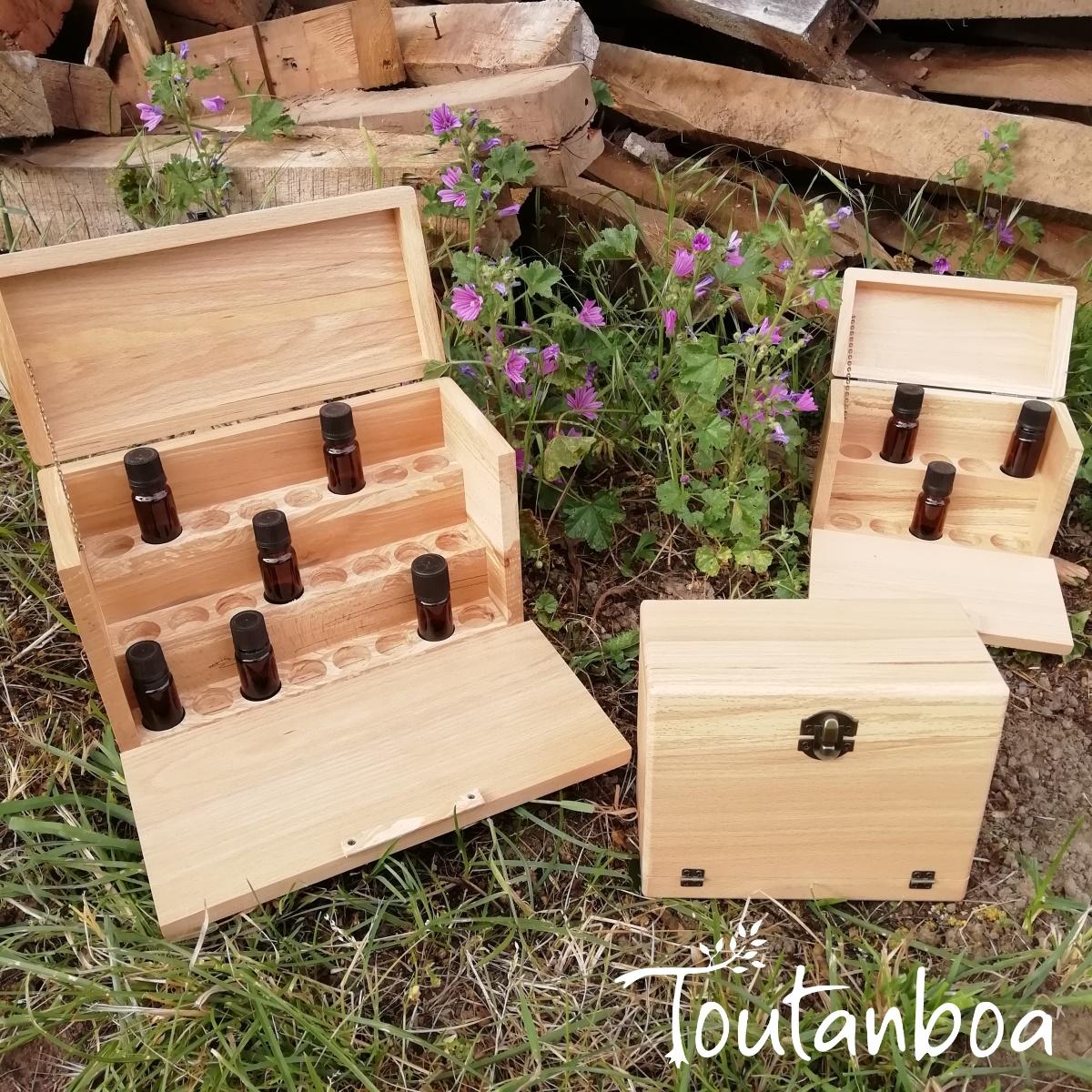 Coffret Pour Huiles Essentielles Atelier Toutanboa Creations Artisanales En Bois Recycle Deco Jouets Meubles Amenagements Pour Pros Sur Mesure